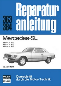 Mercedes 280 / 350 / 450 / SL / SLC