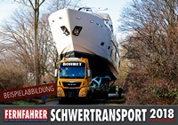 Schwertransport Kalender 2018